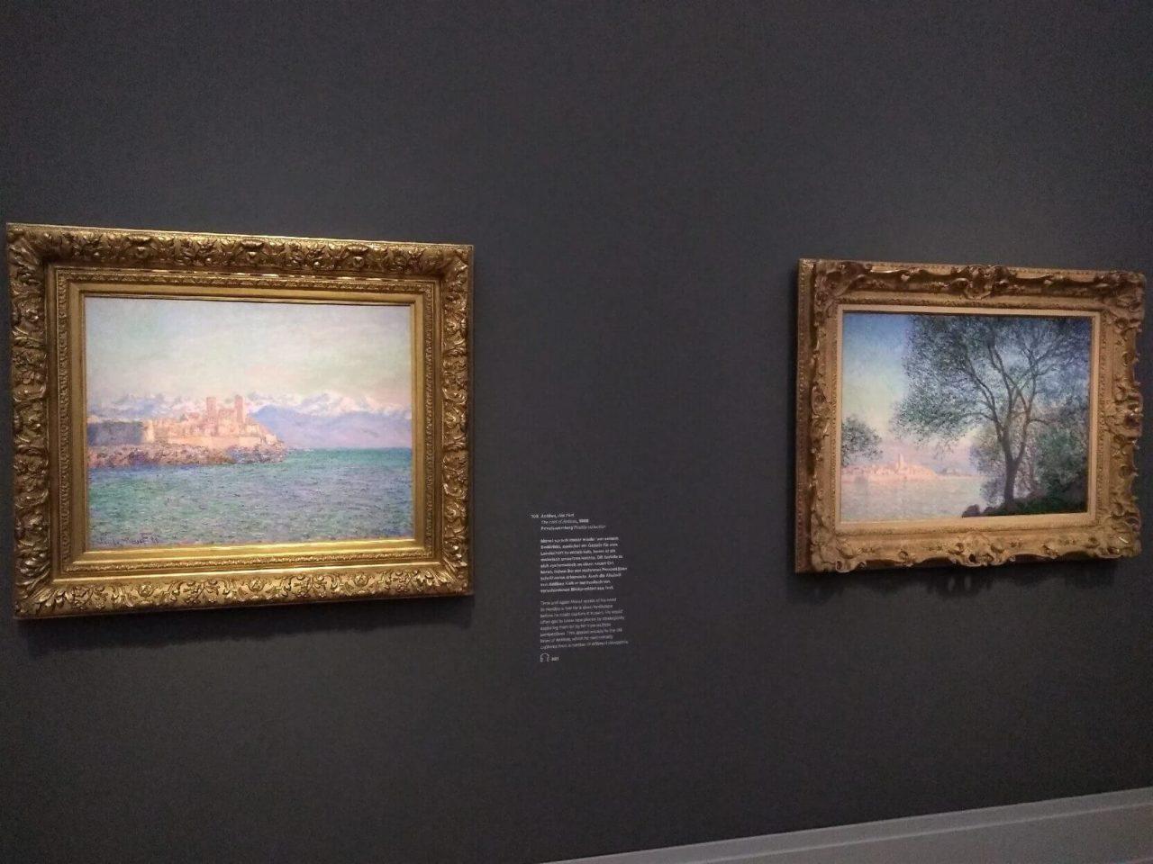 Italien-Gemälde von Claude Monet