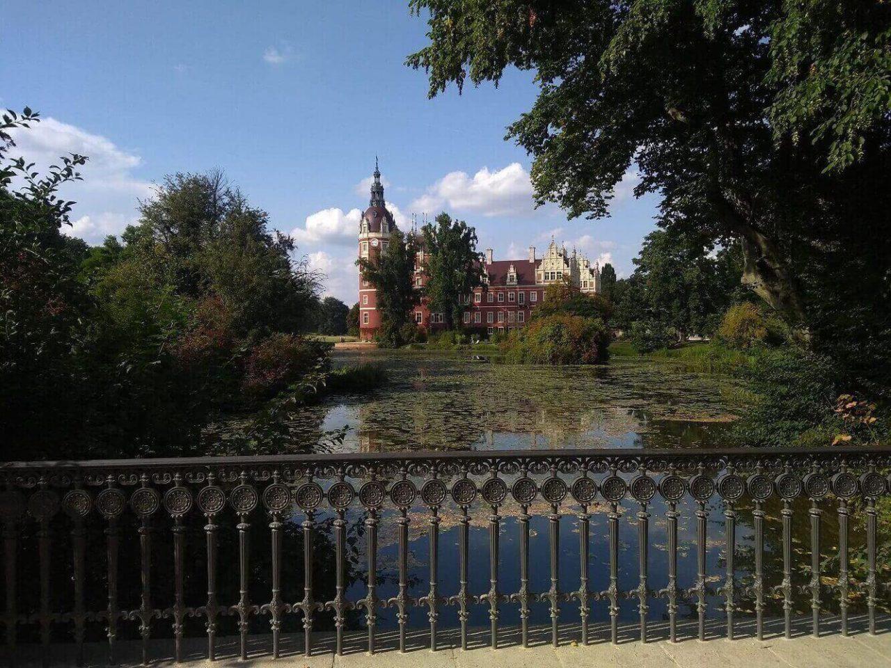 Das Schloss im Muskauer Park